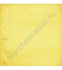 Бумага для скрапбукинга двусторонняя Следы на Песке, 180 гр/м, коллекция Там, где море