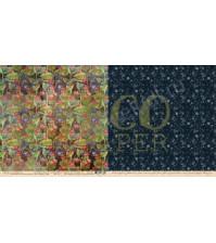 Бумага для скрапбукинга двусторонняя коллекция Осенний лес, 30.5х30.5 см, 250 гр/м, лист Люблю ягоды