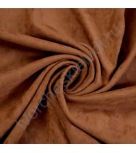 Искусственная замша двусторонняя, плотность 310 г/м2, размер 50х75 см (+/- 2см), цвет кофе с молоком
