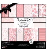 Набор бумаги для скрапбукинга Parkstone Pink, 32 листа