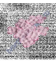 Мини-гортензия 2.5-3 см, 10 шт, цвет светло-розовый