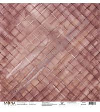 Бумага для скрапбукинга односторонняя Hipster, 30.5х30.5 см, 190 гр/м, лист Память