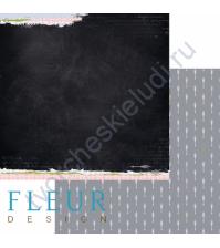 Лист бумаги для скрапбукинга Стрелы любви, коллекция Моменты, 30х30 см, 190 гр