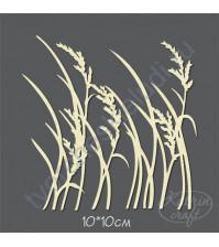 Чипборд Камыш, 10х10 см