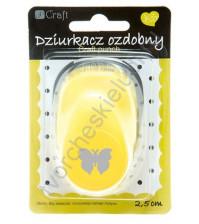 Фигурный дырокол (компостер) Бабочка-4, разм. прим. 2.5 см