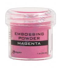 Пудра для эмбоссинга, емкость 30 мл, цвет маджента