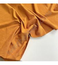 Искусственная замша двусторонняя, плотность 260 г/м2, размер 33х70 см (+/- 2см), цвет тыква