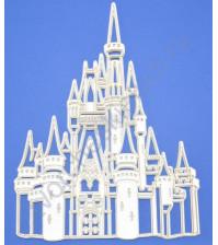 Чипборд 3D Замок, 135х176 мм