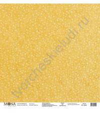 Бумага для скрапбукинга односторонняя Новый год, 30.5х30.5 см, 190 гр/м, лист Счастье