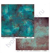Бумага для скрапбукинга двусторонняя Феррум, 190 гр/м2, 30.5х30.5 см, лист 5