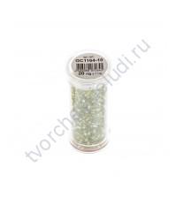 Рубка с круглым отверстием с эффектом бензина, 20 гр, цвет 1164 (салатовый)