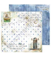 Бумага для скрапбукинга односторонняя Sherlock Holmes, 30.48х30.48 см, 190 гр/м, лист 2