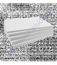 Картон немелованный двусторонний Пивной, 15х20 см, толщ 1.55 мм