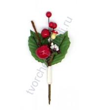 Букетик декоративный Лесной с грибочком, 14 см