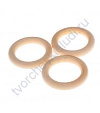 Кольцо деревянное 50 мм, 1 шт