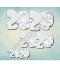 Форма силиконовая (молд) набор 2020-2, 3 элемента
