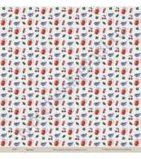 Бумага для скрапбукинга односторонняя коллекция Кулинарное искусство, 30.5х30.5 см, 190 гр/м, лист Напитки