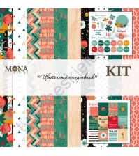 MoNaDesing KIT - Цветочный ежедневник