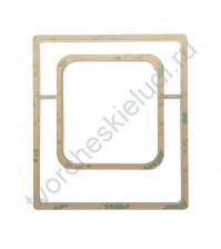 Шейкер Рамка для фото, 90х80 мм, толщ. 2 мм, цвет молочный