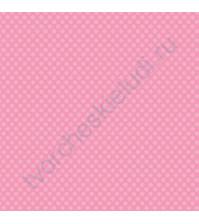 Кардсток односторонний текстурированный Точки, 30.5х30.5 см, 216 гр/м, цвет нежный розовый