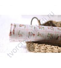 Ткань для лоскутного шитья Цветы в розовом, 50х55 см