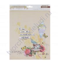 Набор бумаги для скрапбукинга Follow your Heart, 6 листов, 20х25 см, плотность 190 гр/м
