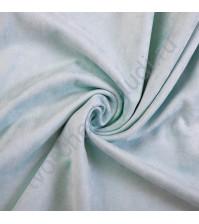 Искусственная замша Suede, плотность 230 г/м2, размер 35х50см (+/- 2см), цвет мятный
