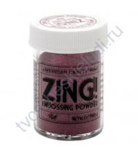 Пудра для эмбоссинга металлик ZING!, 28.4 гр, цвет Metallic Red (красный металлик)