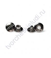 Винт для установки кольцевого механизма, высота 2 мм, цвет серебро