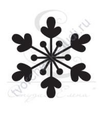 ФП печать (штамп) Снежинка-15,  2х2 см