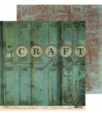 Бумага для скрапбукинга двусторонняя коллекция I've got your six, 30.5х30.5 см, 190 гр/м, лист Верность