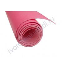 Кожзам переплетный на полиуретановой основе плотность 300 гр/м2, 35х50 см, цвет 2-розовый