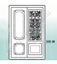 Набор ножей для вырубки Двери в счастье, 60х90 см