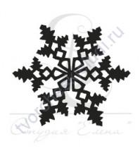 ФП печать (штамп) Снежинка-8, 2х2 см