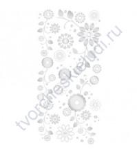 Набор натирок Silver Lining - Flowers, 15х30 см