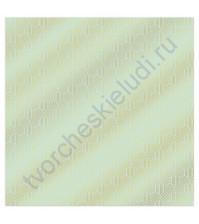 Бумага для скрапбукинга односторонняя с фольгированием золотом 30.5х30.5 см, 180 гр/м2, лист Соты