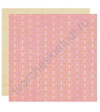 Бумага для скрапбукинга двусторонняя коллекция Promise, 30.5х30.5 см, 220 гр/м, лист One