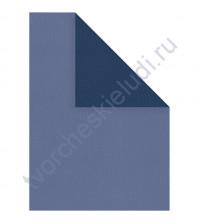 Бумага текстурированная под рептилию, А4, 100 гр/м2, цвет темный синий