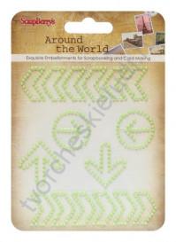 Завитки Вокруг Света-3, цвет пастельный зеленый