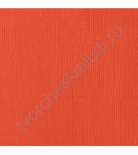 Кардсток текстурированный Красная ягода (Fireberry), 30.5х30.5 см, 216 гр/м2