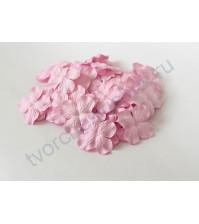 Лепестки гортензии большие 5 см, 10 шт, цвет светло-розовый