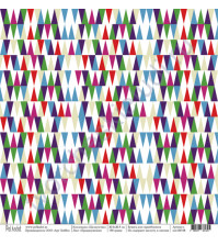 Бумага для скрапбукинга односторонняя коллекция Щелкунчик, 30.5х30.5 см, 190 гр/м, лист Предвкушение