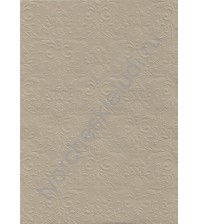 Лист текстурированной бумаги для скрапбукинга с эмбоссированием (тиснением) Дамасский узор премиум, А4, 200 гр, цвет Grigio-chiaro