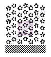 Штамп силиконовый фоновый-4, 6.3х6.3 см