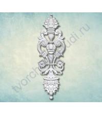Форма силиконовая (молд) для полимерной глины, декоративный элемент Вензель