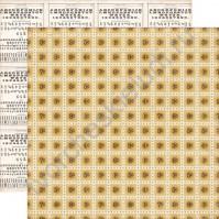 Бумага для скрапбукинга двусторонняя коллекция Note to Self, 30.5х30.5 см, 190 гр/м, лист Stamps