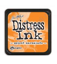 Штемпельная мини-подушечка Tim Holtz Distress Mini Ink Pads на водной основе, 2.5х2.5 см, цвет пряный мармелад (spiced marmalade)