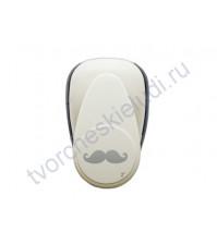 Фигурный компостер (дырокол) Усы, прим. 5 см