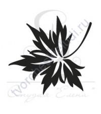 ФП печать (штамп) Листик-4, 2х2 см