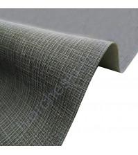 Кожзам переплетный с тиснением под холст на полиуретановой основе плотность 230 гр/м2, 33х70 см, цвет F359-антрацит